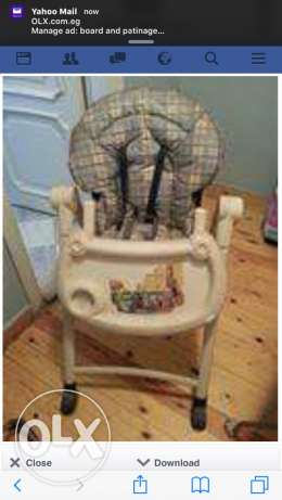 high chair graco