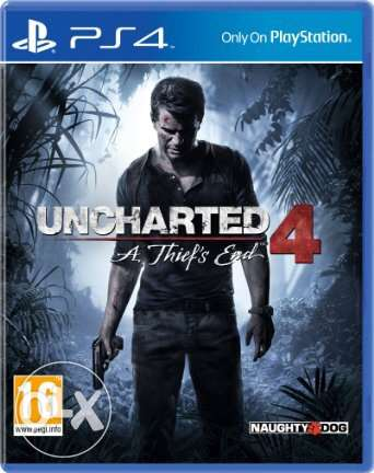 uncharted 4 Arabic edition PS4 for sale