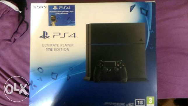 Ps4 1tb ultimate player edition
