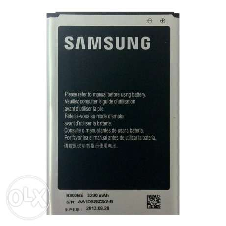 Original note 3 samsung battery بطارية 3 نوت