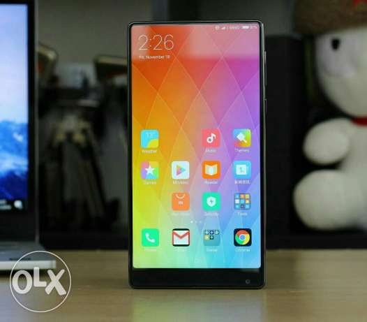 mi mix 6 gb ram 256 giga black new