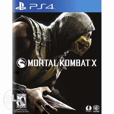 The king of fighter, Mortal Kombat X, UFC for sale used perfect condit التجمع الخامس -  3