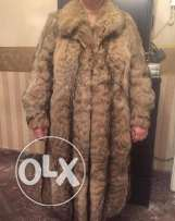 Brown mink used in a very good condition.