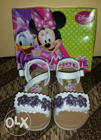 New Disney sandals for girl, size 9