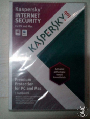 Kaspersky Internet Security 2013 new1CD 3computers