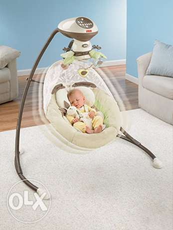 Fisher-Price My Little Sheeps Cradle 'n Swing