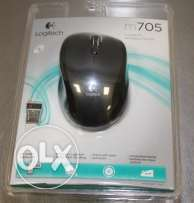 Logitech M705 Wireless Marathon Mouse **جديد متبرشم**