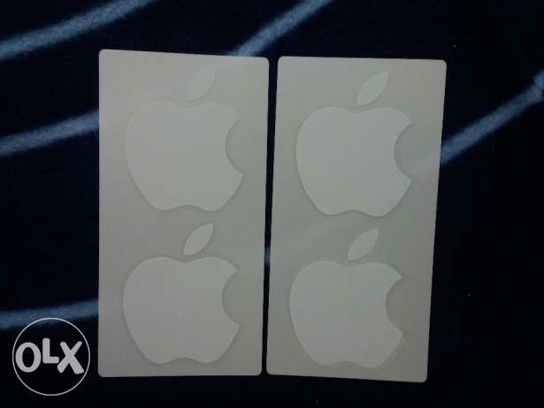 Apple sticker logo