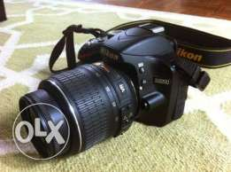 Nikon d3200 fore sale with lens 55:200