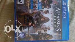 Assassin's Creed Syndicate Sealed جديدة PS4