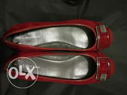 Celvin klein red shoes 8.5