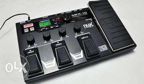 Nux MFX-10 guitar multi effects processor