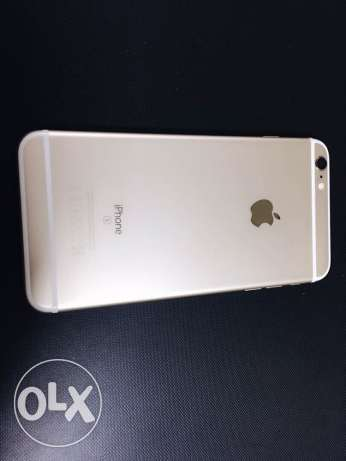 for sale iPhone 6s Plus gold used 2 months ago