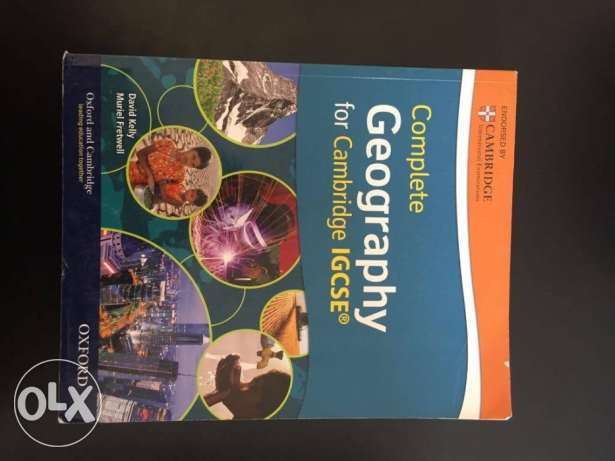 Cambridge Hodder Complete Geography for IGCSE with CD-ROM