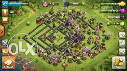 Clash of clans th8 95% max