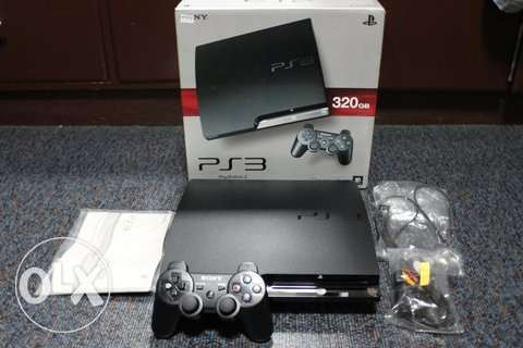 ps3 new slim 320 g عين شمس -  1