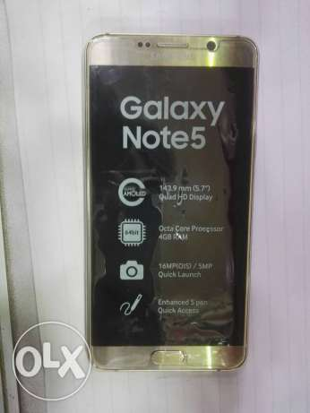 Samsung Galaxy note5 كسر زيرو