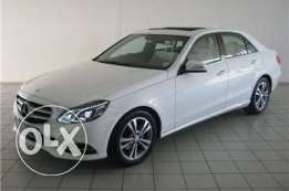Mercedes E200 Avantgarde 2015 white