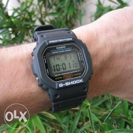 Casio DW-5600E-1VDF G-Shock Rare Watch New وسط القاهرة -  1