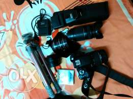 camera and gears for sale
