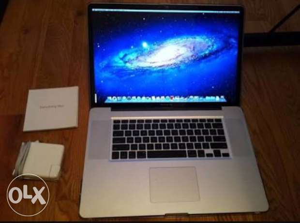 MacBook Pro 17 inch made 2009