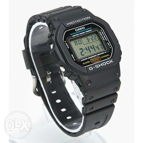 Casio DW-5600E-1VDF G-Shock Rare Watch New وسط القاهرة -  3