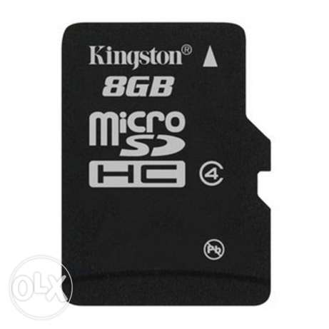 kingston 8Giga class4 + adapter مصر الجديدة -  1