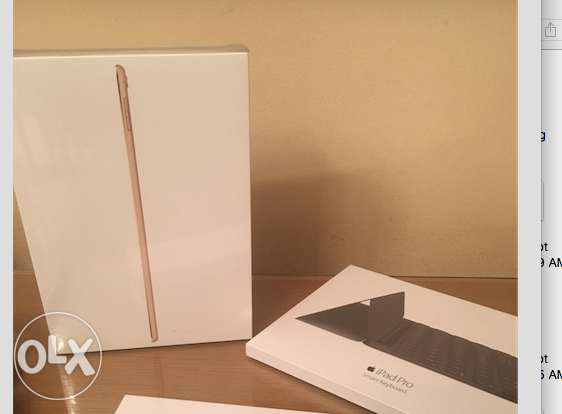 New iPad Pro 9.7 Inch 32GB Wifi with Smart Keyboard and Apple Pencil