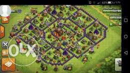 تاون 10 كلاش اوف كلانس clash of clans