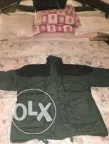 Jaket water proof double face