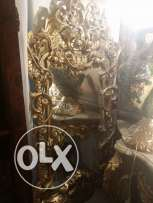 old fabulaus mirror very fine oiyma full of details 135 x 65 for 1850