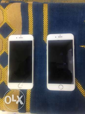 iphone 6 16G. Gold / silver الزمالك -  1