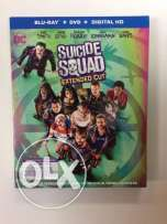 (Suicide Squad ( Theartical +Extended Cut بلوراى اصلى من امريكا