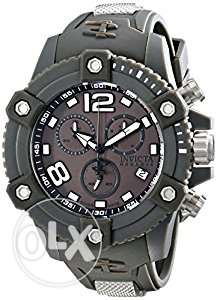 Invicta Men's 17292 Reserve Analog Display Swiss Quartz Grey Watch