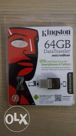 Kingstone 64 Gb OTG