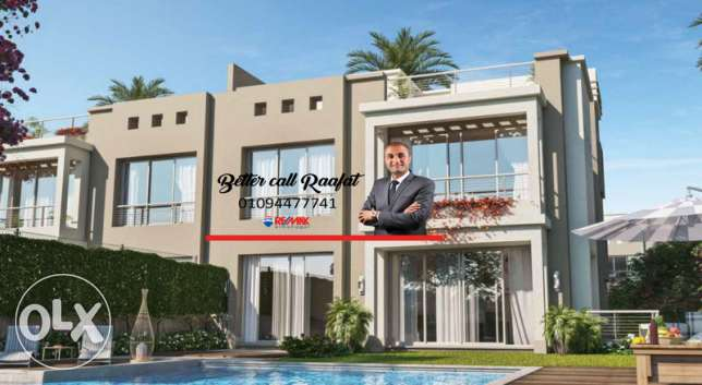 Sale Villa At Cairo Festival City Location NEW CAIRO