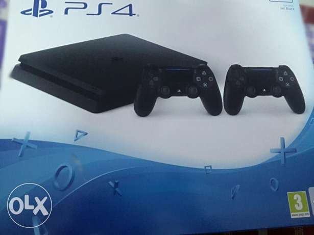 Playstation 4 Super Slim 2 يد تحكم