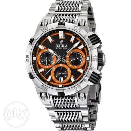 Festina Chrono Bike - Orange Dial