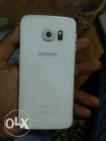 S6 edge 32G white with box in good condition مدينة نصر -  2