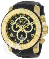 Invicta Men's 0415 Pro Diver Collection Sea Hunter Chronograph Black P