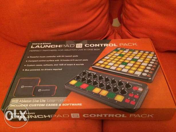 Launchpad S Control Pack ( Lauchpad S & Lauch Control)