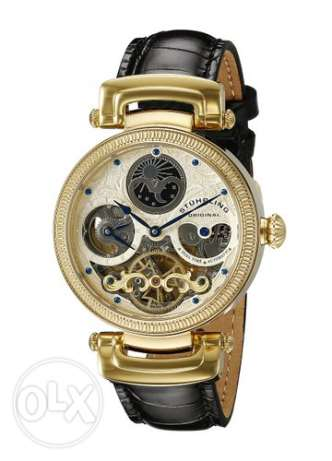 Stuhrling Original Men's 353A.333531 Magistrate Automatic Skeleton Dua