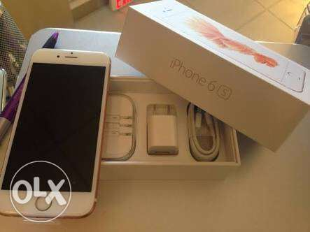 iPhone 6s 16GB GOLD زيرو بالضمان