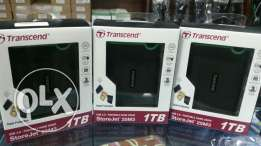 Transcend StoreJet 25M3 Shock Proof 1TB External Hard Drive