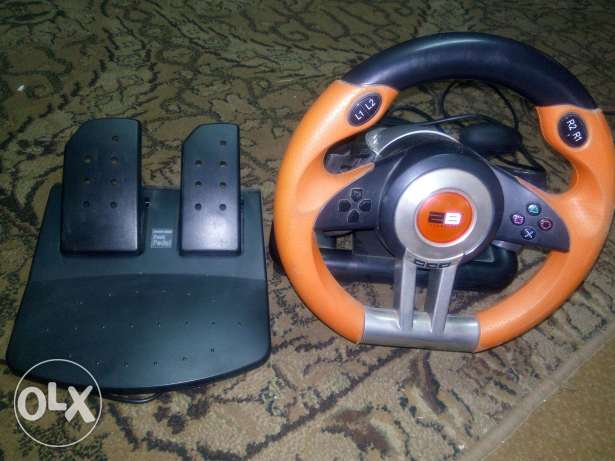 Steering wheel 2B for pc/ps2/ps3