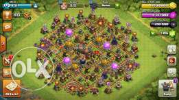 Clash Of Clans TH10 Max Base 100% Lvl 180