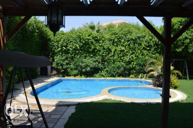 Amazing Villa in Greens fully finished with pool and Jacuzzi 700 sqm