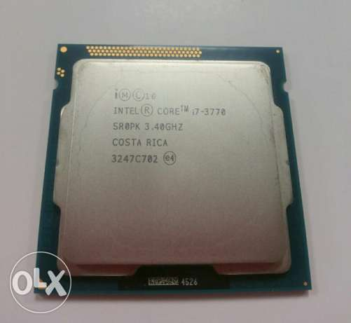 Intel Core i7 3770 Processor 3.4GHz /8MB للبيع
