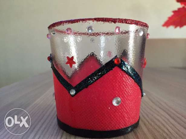 unique hand made candle holder مدينتي -  2