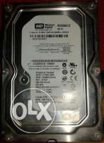Western Digital Black hard disk 320GB+Ram 512 ddr1